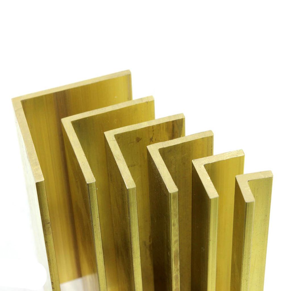 "Brass  Angle 1//16""  3//8"" x 3//8"""