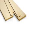 """3/4"""" x 1/16"""" (16g) - Brass Flat"""
