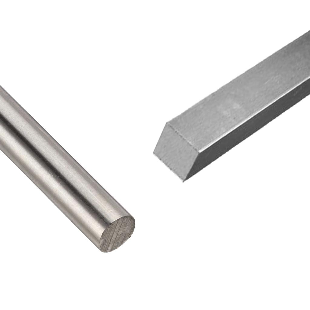 Silver Steel (Round & Square)