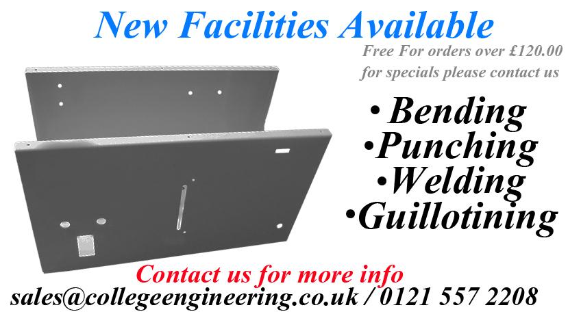 New facilities